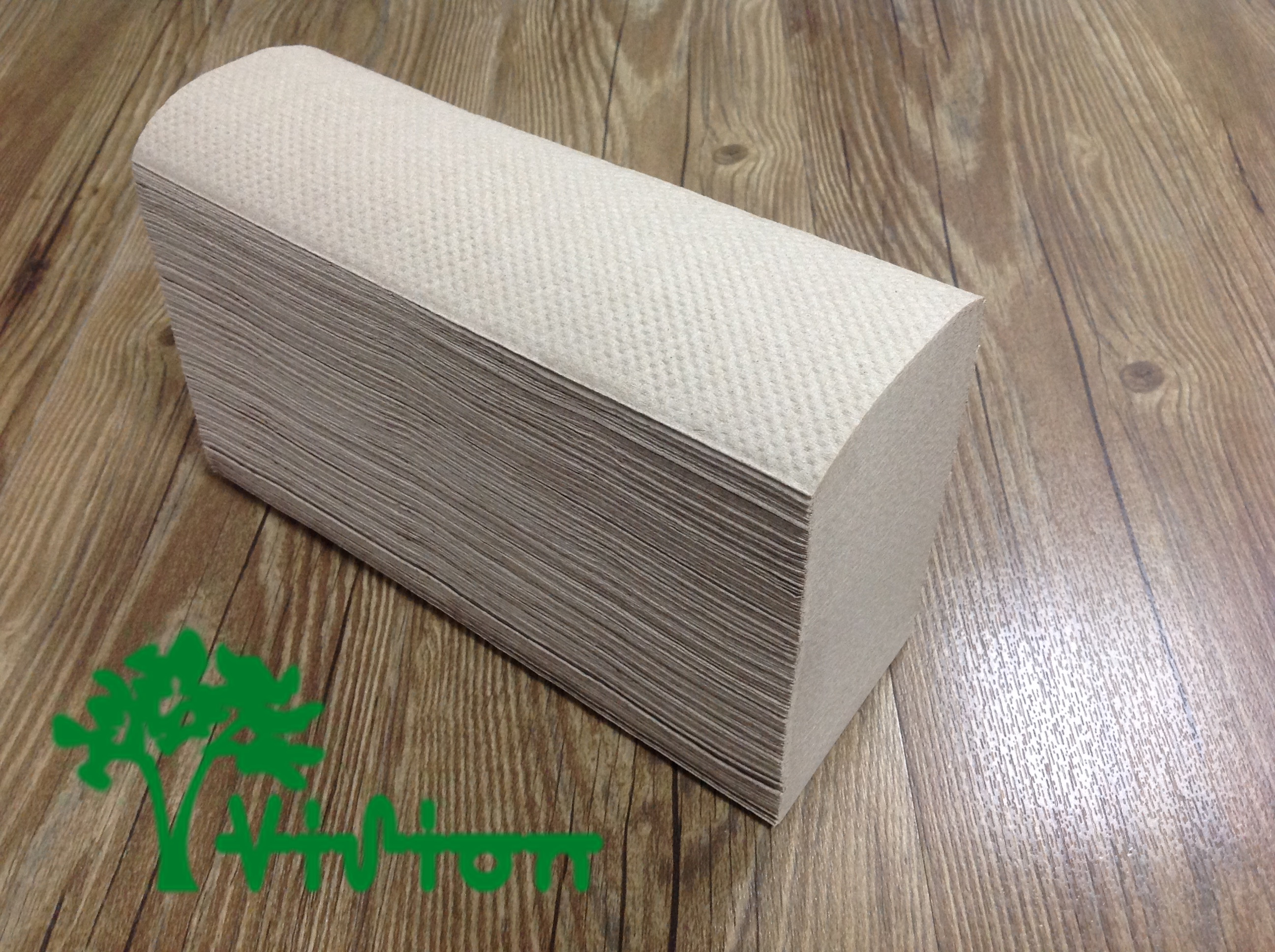 "Multifold paper towels,  recycled brown,38gsm,  1Ply,9.05""×9.05""250Pcs"