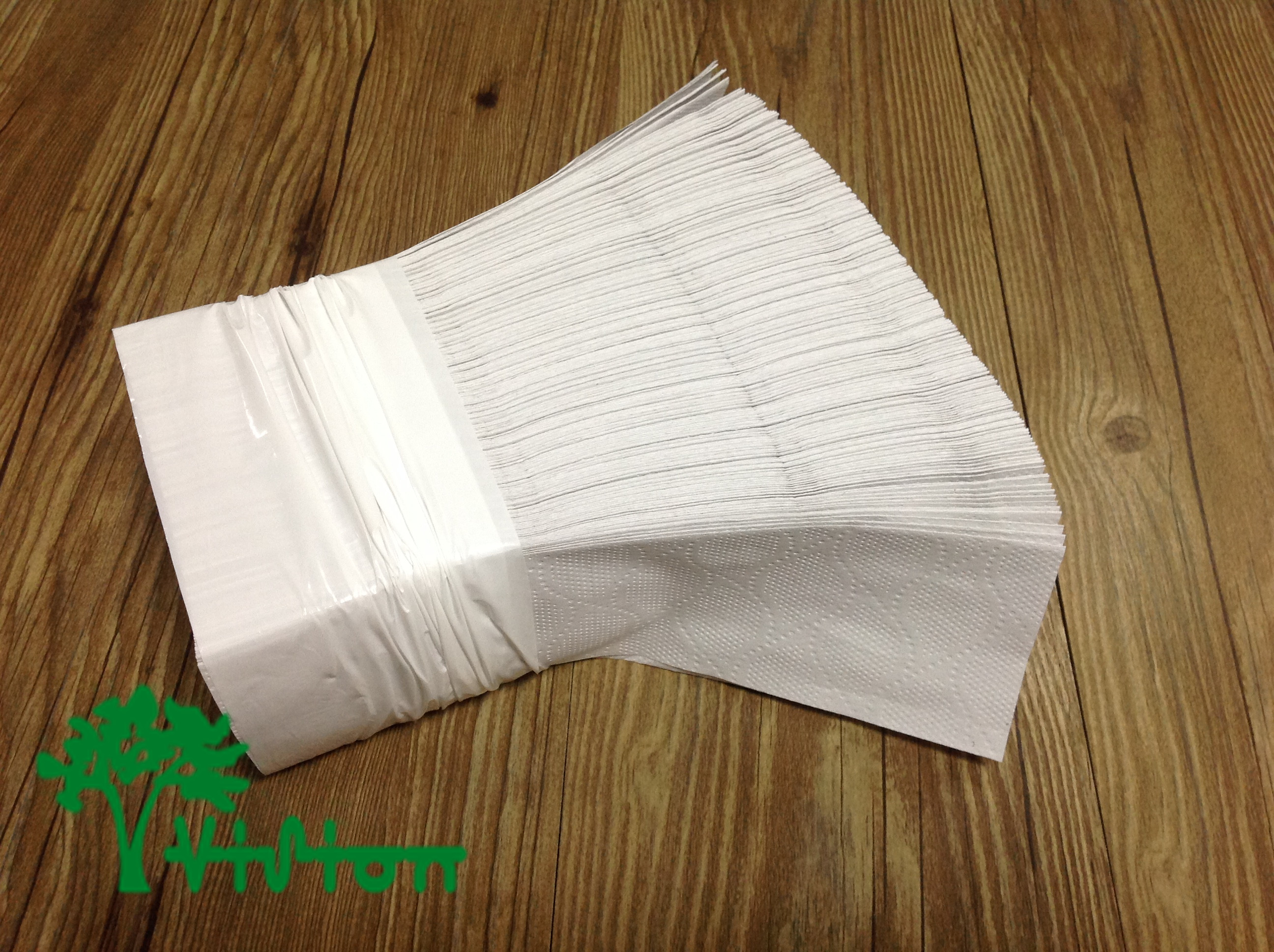 "Multifold paper towels,  recycled white,38gsm,  1Ply,9.05""×9.25""250Pcs"