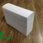 "Multifold paper towels,  recycled white,38gsm,1Ply,  9.05""×9.05""334Pcs"