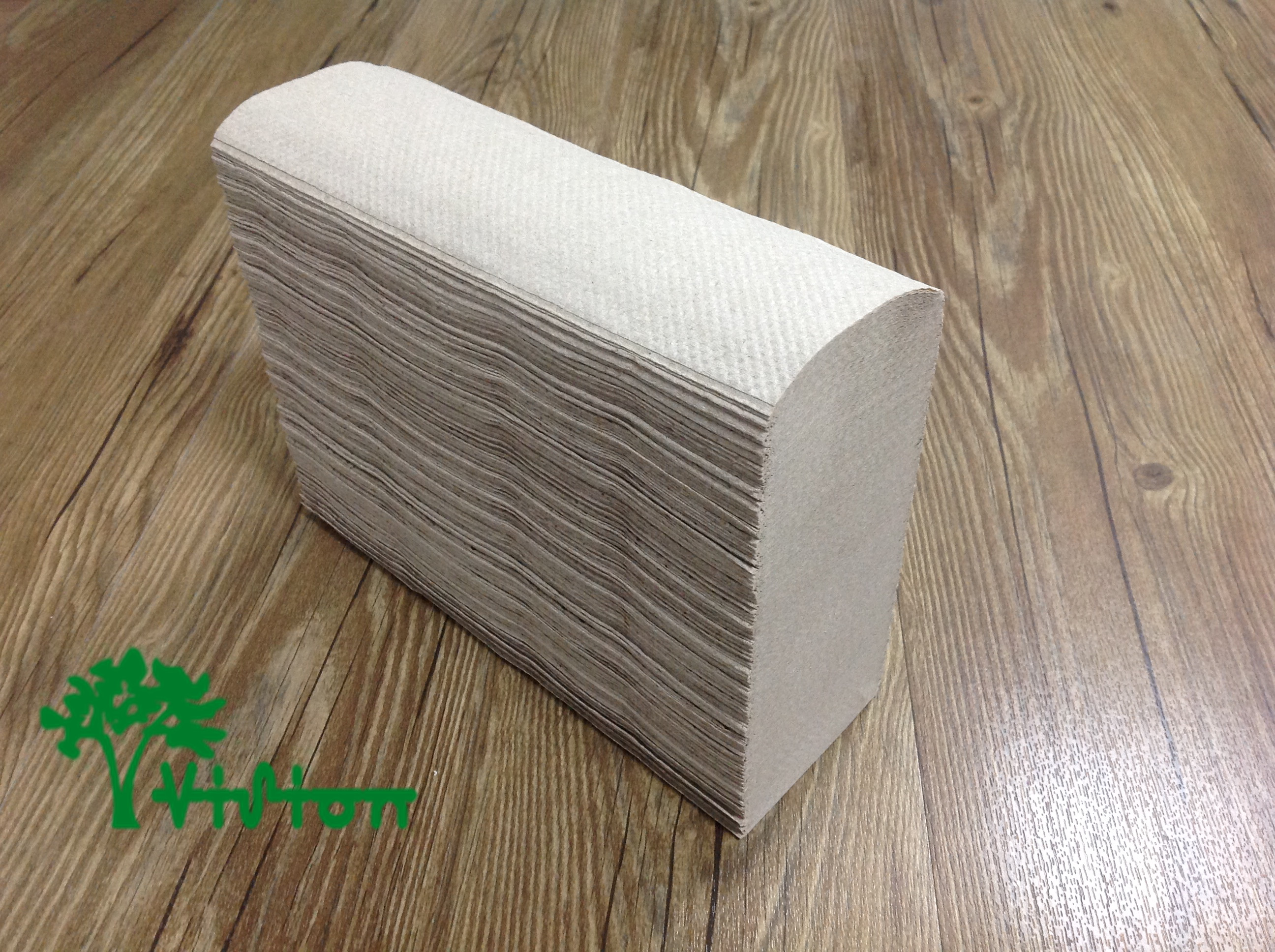 "Multifold paper towels,  recycled brown,38gsm,  1Ply,9.05""×9.05""334Pcs"
