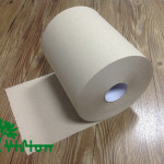"""Paper towel roll,  recycled brown,38gsm,  1Ply,7.76""""×600'"""