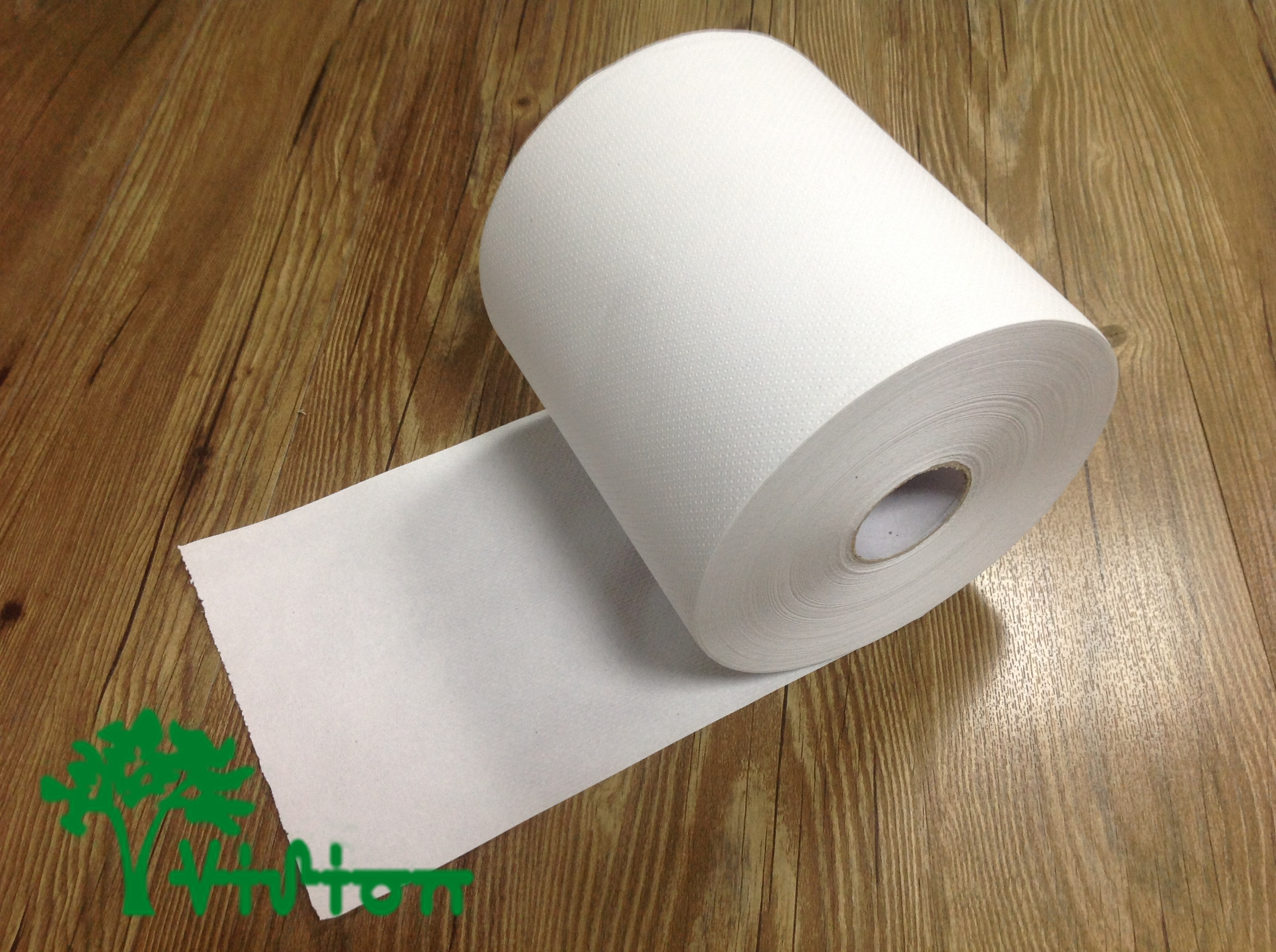 """Paper towel roll,  recycled white,38gsm,  1Ply,7.76""""×800'"""