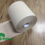 """Paper towel roll,  recycled brown,38gsm,  1Ply,7.76""""×800'"""