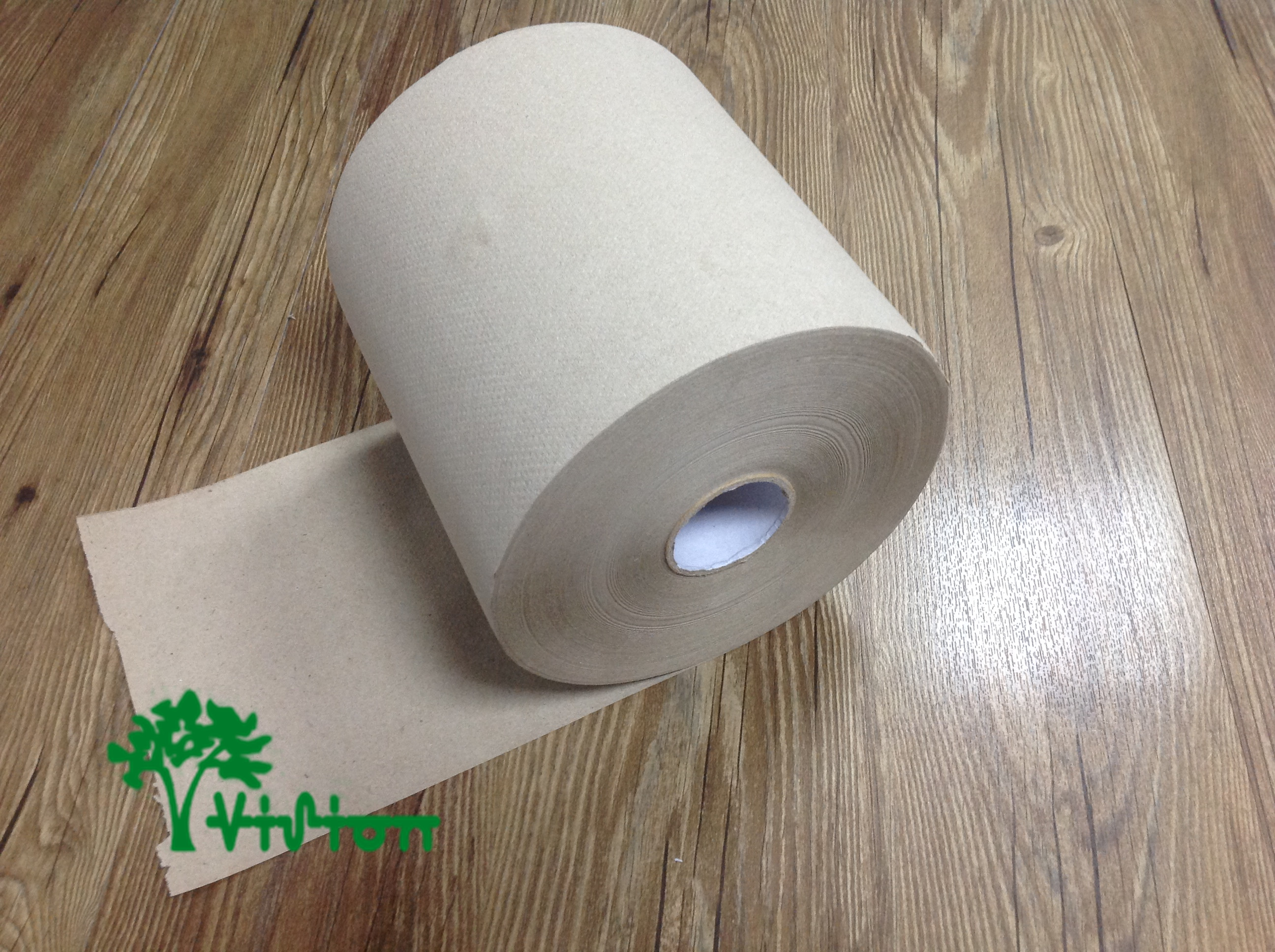 "Paper towel roll,  recycled brown,38gsm,  1Ply,7.76""×800'"