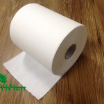 """Paper towel roll,  virgin white,38gsm,  1Ply,7.76""""×600'"""