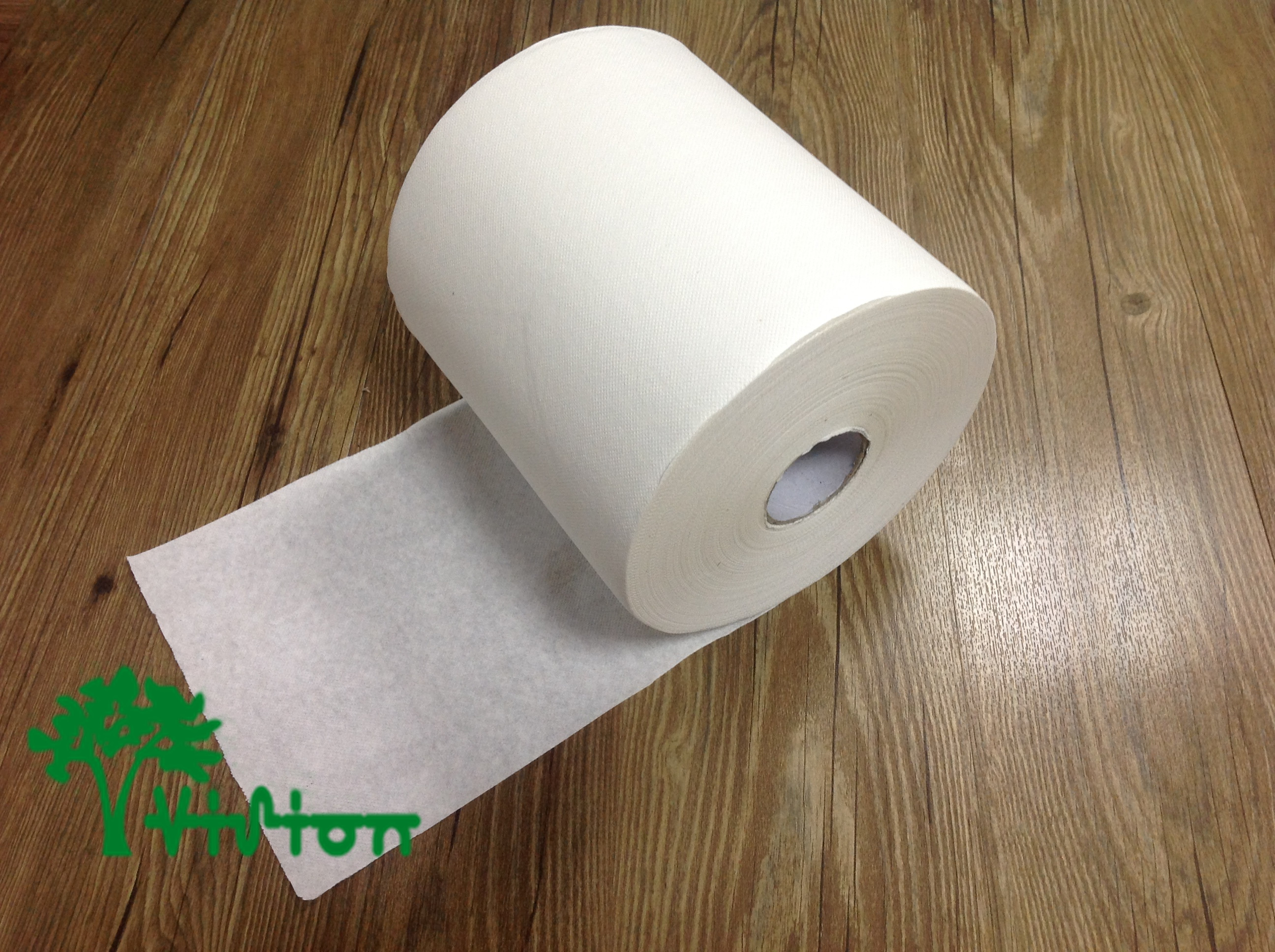 """Paper towel roll,  virgin white,38gsm,  1Ply,7.76""""×800'"""