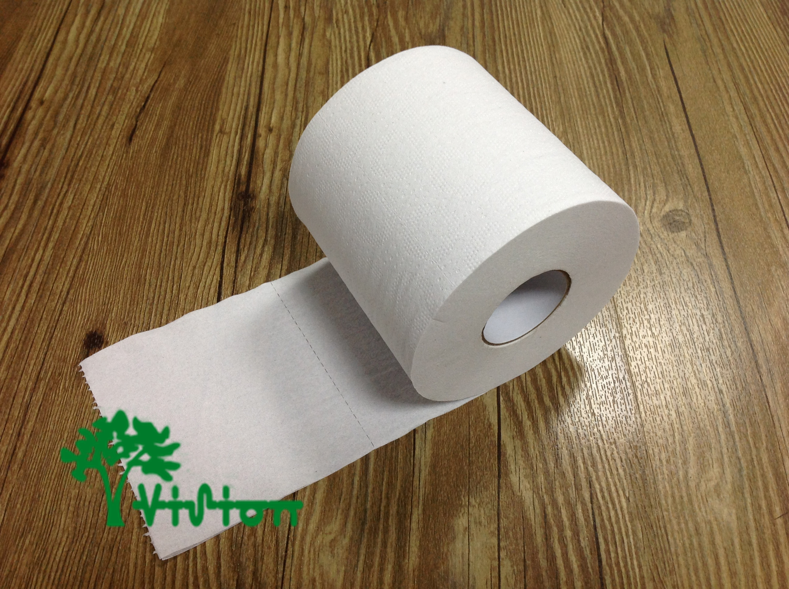 Small toilet paper,  recycled white,16gsm,2Ply,  4.25