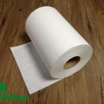"""Paper towel roll,  virgin white,38gsm,  1Ply,7.76""""×350'"""