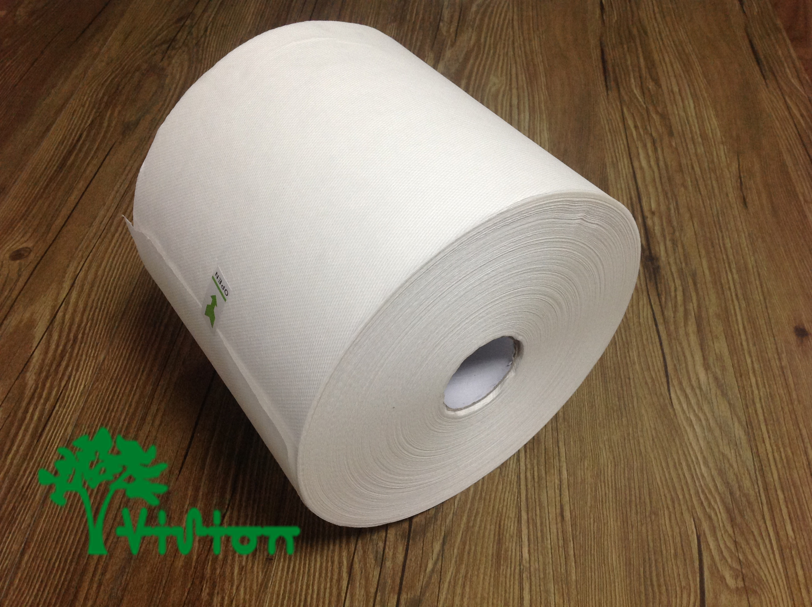"Paper towel roll,TAD pulp,  28gsm,1Ply,7.76""×800'"