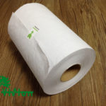"Paper towel roll,  recycled white,38gsm,1Ply,7.76""×350'"