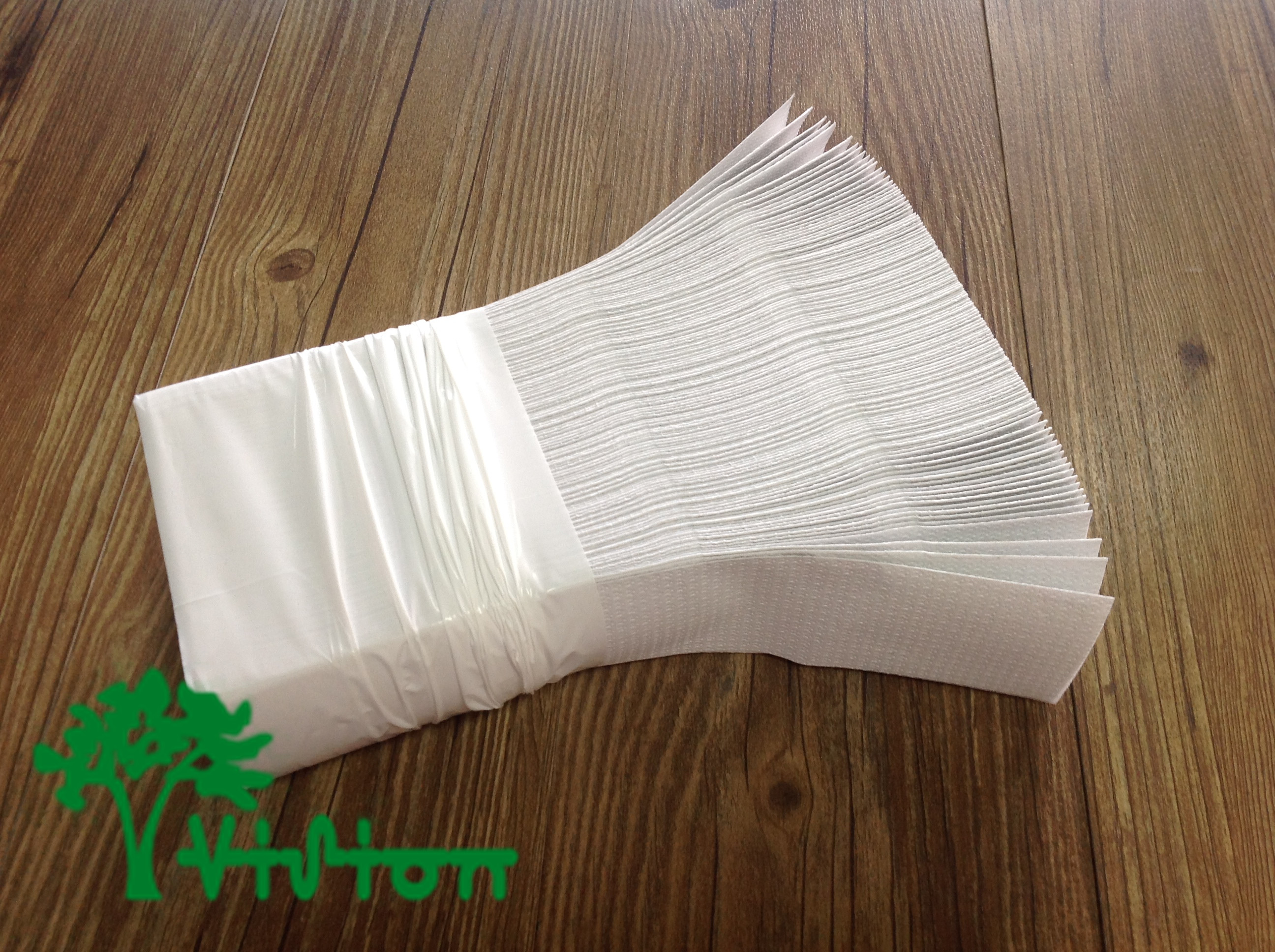 Ultra Slim Paper Towels Recycled White Wholesale Tissue