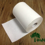 "Paper towel roll,  virgin white,38gsm,  1Ply,7.08""×328'"