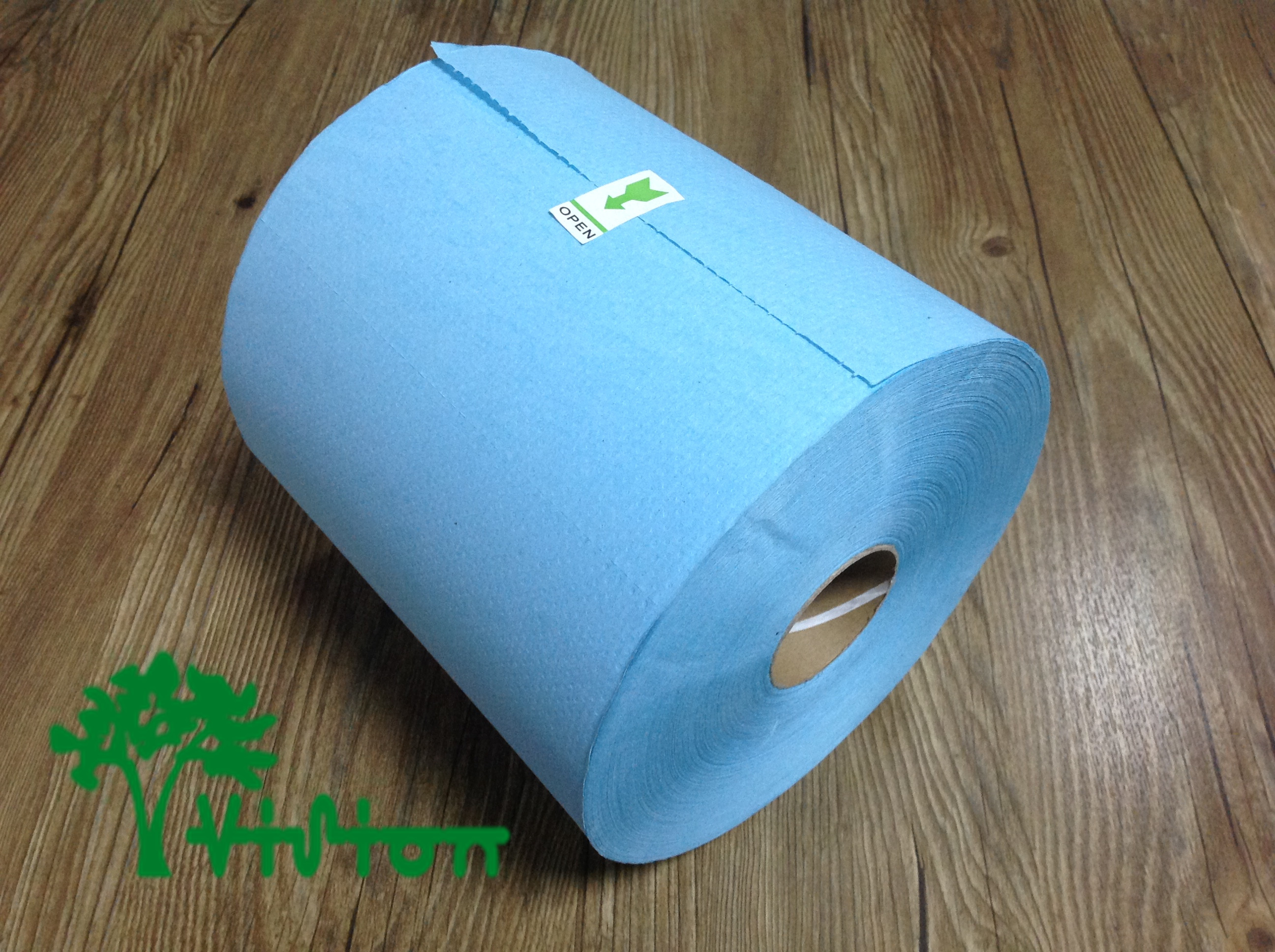 Center pull paper towels,  recycled blue,28gsm,  1ply,7.75