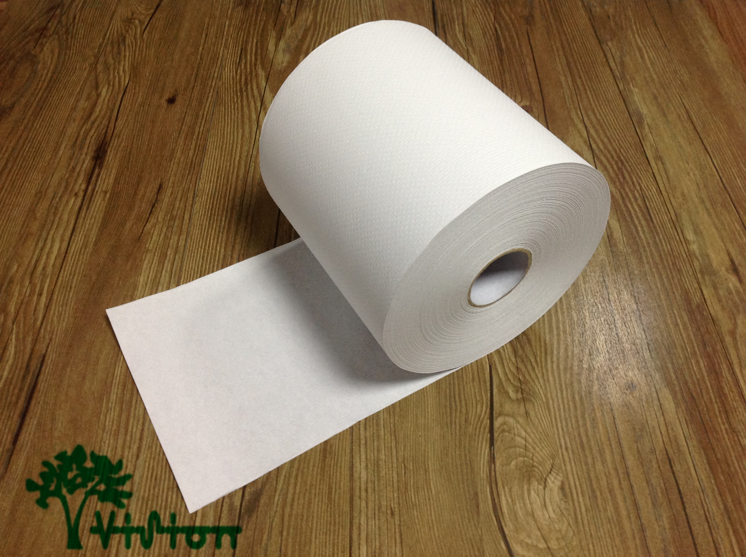 "Paper towel roll,  recycled white,34gsm,  1Ply,7.76""×800'"