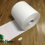 "Paper towel roll,  recycled white,34gsm,  1Ply,7.76""×1000'"